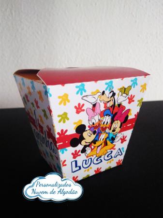 Caixa sushi Turma do Mickey-Caixa Sushi Turma do Mickey Fazemos em qualquer tema. Envie nome e idade para personalização.