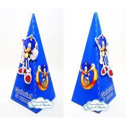 Caixa pirâmide Sonic