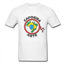 camiseta apoeira arte brasileira camiseta