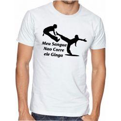 Camiseta Capoira Gingado