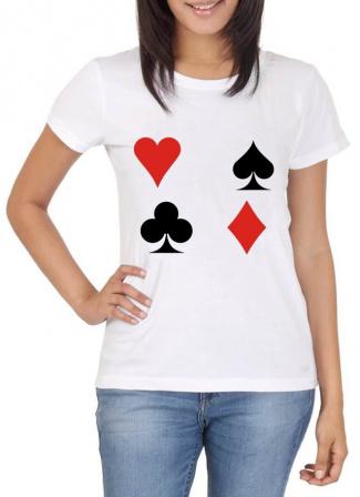 Camiseta Carta Baralho-Camiseta Carta Baralho Sejam bem vindo em nossa loja será um prazer antende-lo(a) Nossas estampas