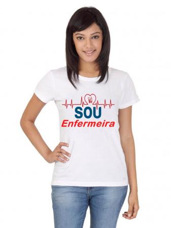 Camiseta Enfermagem curso branca-Camiseta Enfermagem curso branca Descrição Um produto especial para um cliente especial. Seja m