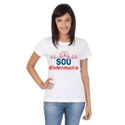 Camiseta Enfermagem curso branca