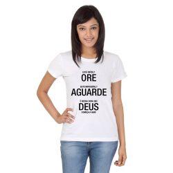 Camiseta evangelica branca
