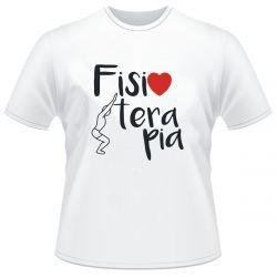 Camiseta Fisoterapia Curso branca