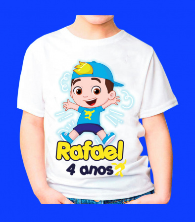 Camiseta Luccas Neto Personalizada-Descrição Um produto especial para um cliente especial. Seja muito bem vindo á nossa loja!  E
