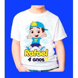 Camiseta Luccas Neto Personalizada