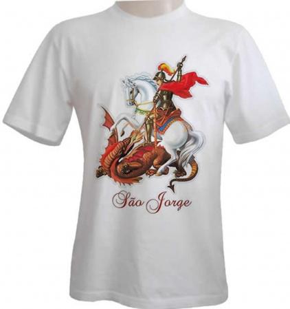 Camiseta São Jorge devoção-Camiseta São Jorge devoção Camiseta  Descrição Um produto especial para um cliente especial.