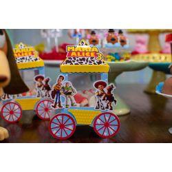 Carrinho de pipoca Toy Story