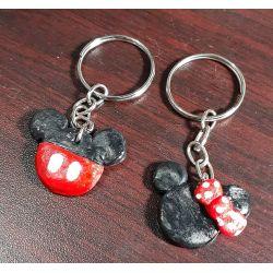 chaveiro Mickey&Minnie