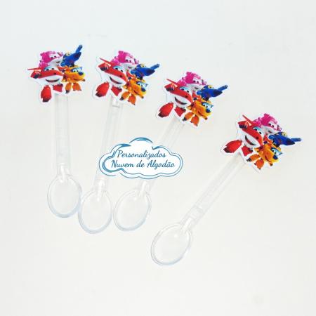 Colherzinha de docinho Super wings-Colherzinha de docinho Super wings Fazemos todos os temas    Na hora do seu pedido informe os dad