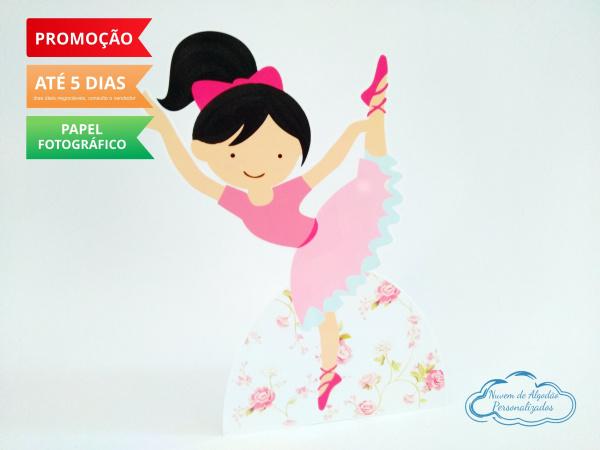 Display de mesa Bailarina 27cm - Dançarina-Display de mesa Bailarina 27cm - Dançarina Largura varia de acordo com a imagem.  - Possui pé d