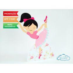 Display de mesa Bailarina 27cm - Dançarina