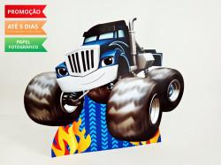 Display de mesa Blaze and the monster machine 27cm - Caminhão
