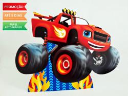 Display de mesa Blaze and the monster machine 27cm - Carro vermelho