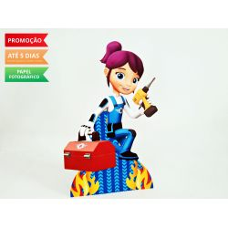 Display de mesa Blaze and the monster machine 27cm - Menina