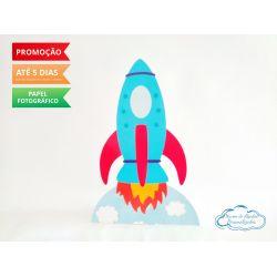 Display de mesa Brinquedos 27cm - Foguete