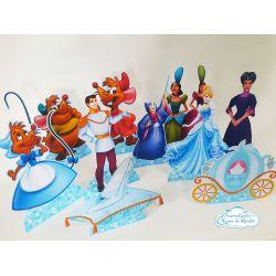 Display de mesa Cinderela 27cm - Turma