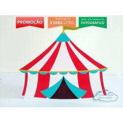 Display de mesa Circo 27cm - Tenda