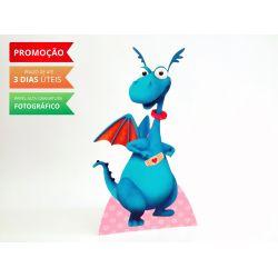 Display de mesa Dra. Brinquedos 27cm - Felpudo