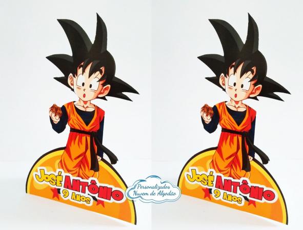 Display de mesa Dragon Ball 27cm - Goten-Display de mesa Dragon Ball até 27cm - Goten Largura varia de acordo com a imagem.  - Possui pé