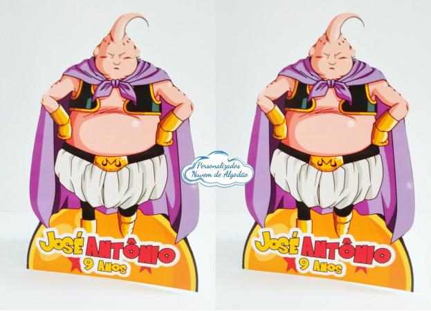 Display de mesa Dragon Ball 27cm - Majin Boo-Display de mesa Dragon Ball até 27cm - Majin Boo Largura varia de acordo com a imagem.  - Possui