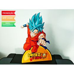 Display de mesa Dragon Ball 27cm - Super Goku