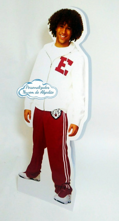 Display de mesa High School Musical 27cm - Chad-Display de mesa High School Musical até 27cm - Chad Largura varia de acordo com a imagem.  - Pos