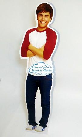 Display de mesa High School Musical 27cm - Troy-Display de mesa High School Musical até 27cm - Troy Largura varia de acordo com a imagem.  - Pos