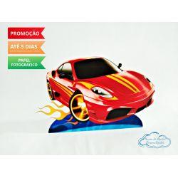 Display de mesa Hot Wheels 27cm - Carro vermelho