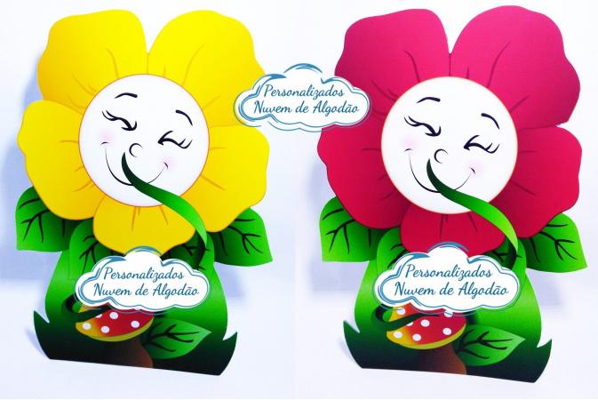 Display de mesa Jardim Encantado 27cm - Flor-Display de mesa Jardim Encantado até 27cm - Flor Largura varia de acordo com a imagem.  - Possui