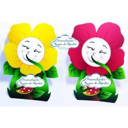 Display de mesa Jardim Encantado 27cm - Flor