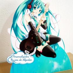 Display de mesa Miku miku 27cm - Musica
