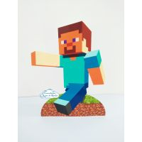 Display de mesa Minecraft 27cm - Steve