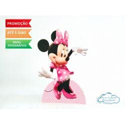 Display de mesa Minnie Rosa 27cm