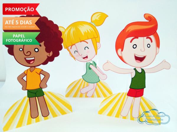 Display de mesa Mundo bita 27cm - Crianças-Display de mesa Mundo bita até 27cm - Crianças Largura varia de acordo com a imagem.  - Possui