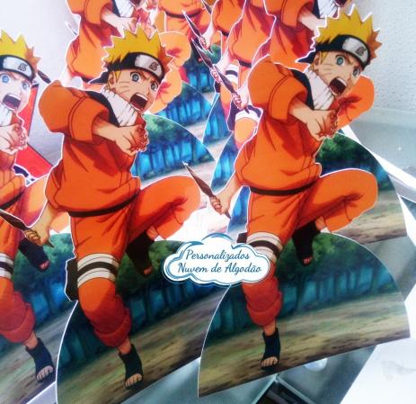 Display de mesa Naruto 27cm-Display de mesa Naruto até 27cm  Largura varia de acordo com a imagem.  - Possui pé de apoio.
