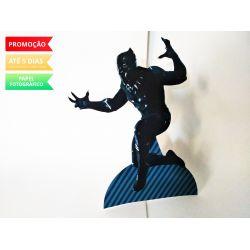 Display de mesa Pantera Negra 27cm - Pantera