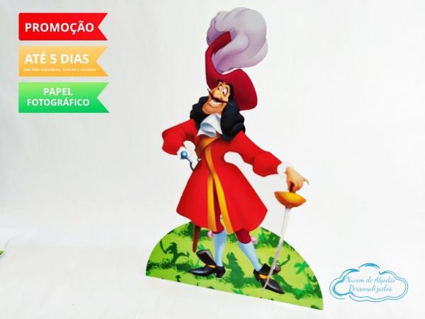 Display de mesa Peter Pan 27cm - Capitão Gancho-Display de mesa Peter Pan até 27cm - Capitão Gancho  Largura varia de acordo com a imagem.  - P