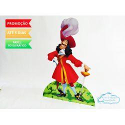 Display de mesa Peter Pan 27cm - Capitão Gancho