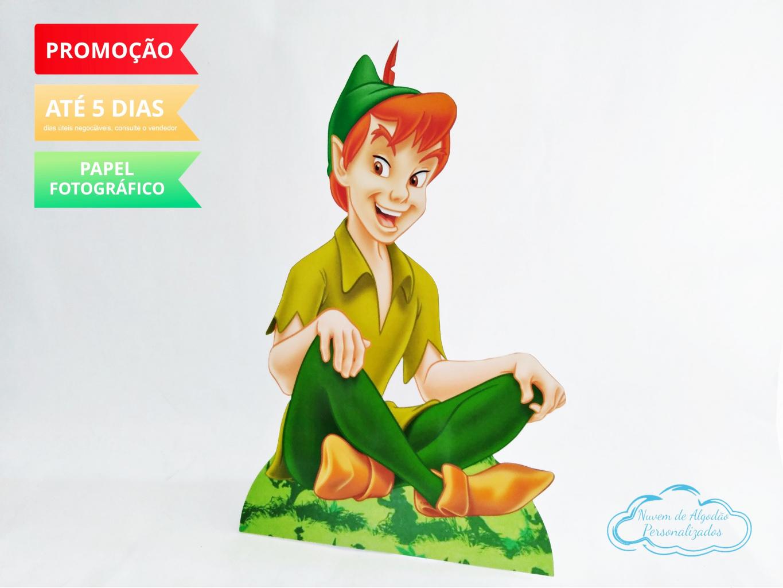 Nuvem de algodão personalizados - Display de mesa Peter Pan 27cm - Sentado
