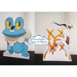 Display de mesa Pokemon 27cm