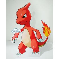 Display de mesa Pokemon 27cm - Charmeleon