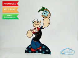 Display de mesa Popeye e Olivia Palito 27cm - Popeye