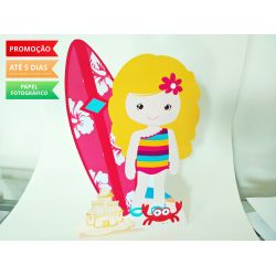 Display de mesa Praia 27cm - Surfista