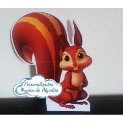 Display de mesa Princesa Sofia 27cm - Esquilo