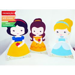 Display de mesa Princesas 27cm