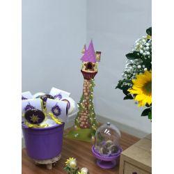 Display de mesa  Rapunzel 27cm - Torre