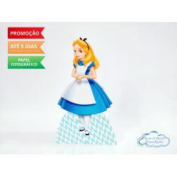 Display de mesa Alice no País das Maravilhas 27cm