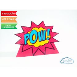 Display de mesa Vingadores 27cm - Pow